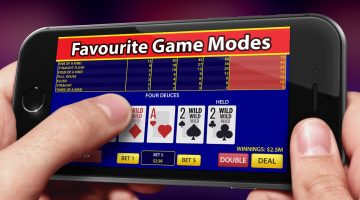 video poker on mobile