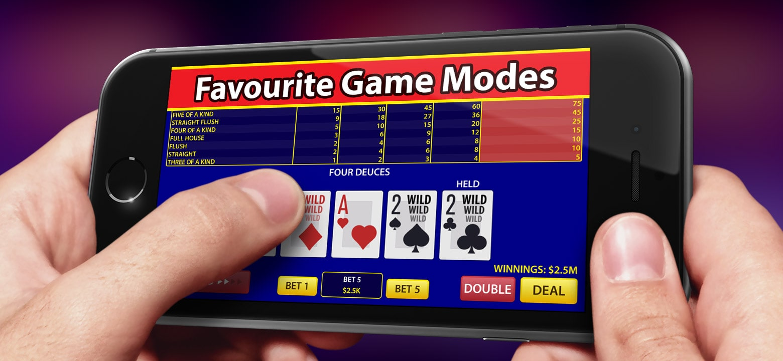 Play Video Poker On Mobile Casinsio